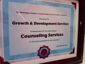 11.29.12 Counseling award