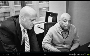 Russell Simmons and Dr G