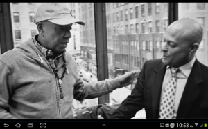 russell simmons and Dr. G